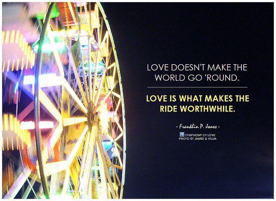 愛は世界を回さない 英語